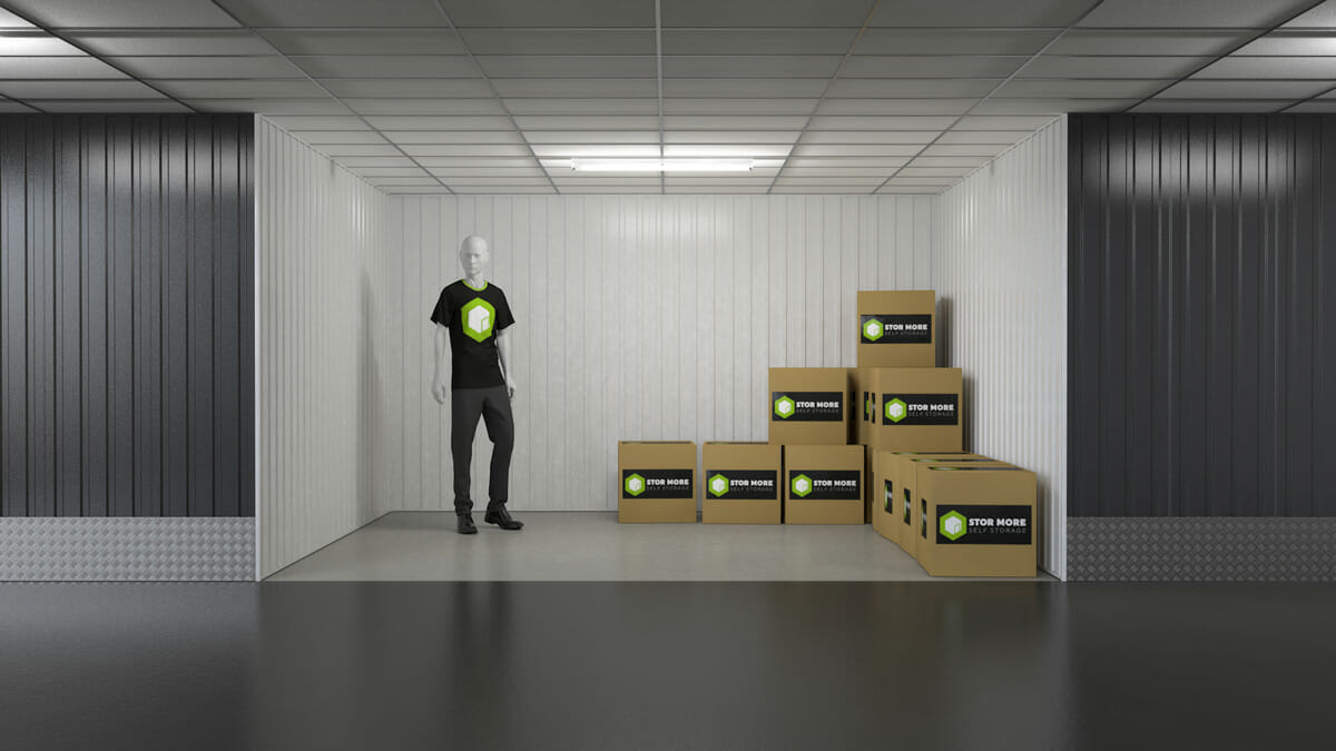 Store More Self Storage - Our 125sq ft units in hull