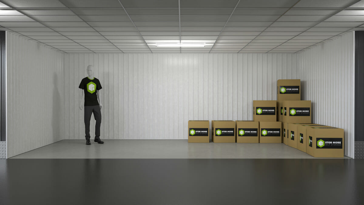 Store More Self Storage - Our 200sq ft units in hull