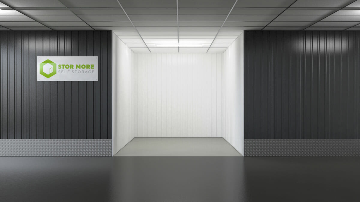 Store More Self Storage - Empty 50sq ft units in hull