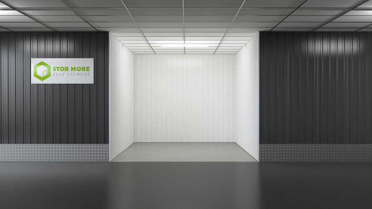 Store More Self Storage - Empty 75sq ft units in hull